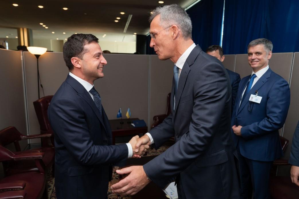 Zelensky meets Stoltenberg / Photo from president.gov.ua