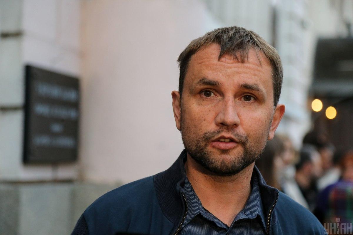 """На вопрос, нужны ли эти марши, Вятрович в конце концов сказал, что он """"не готов это поддерживать""""/ фото УНИАН"""