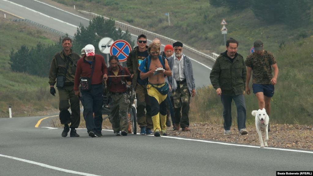 Отряд шамана продолжит путь с того места, где задержали Габышева / фото Beata Bubenets, Радио Свобода
