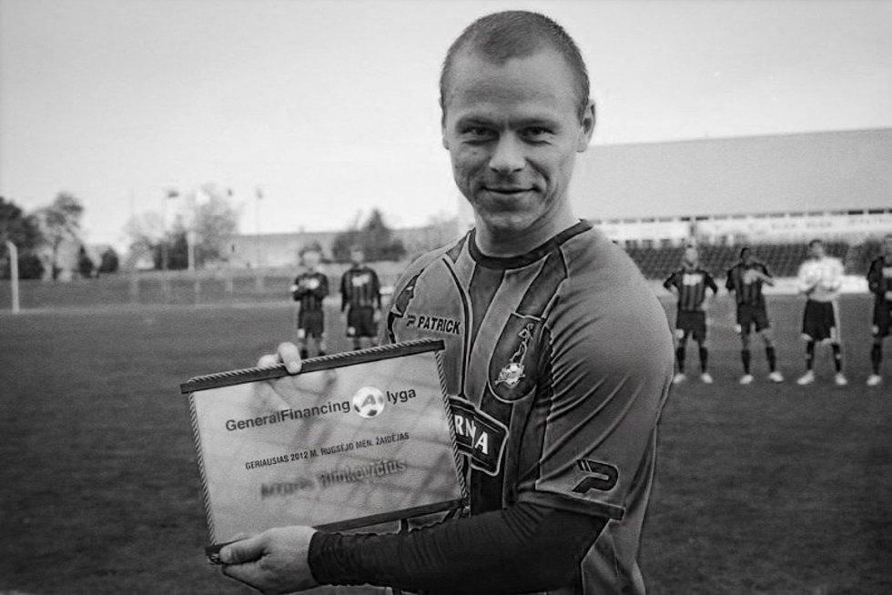 Артурас Римкявичюс завершил карьеру в 2016 году / фото: fcsiauliai.lt