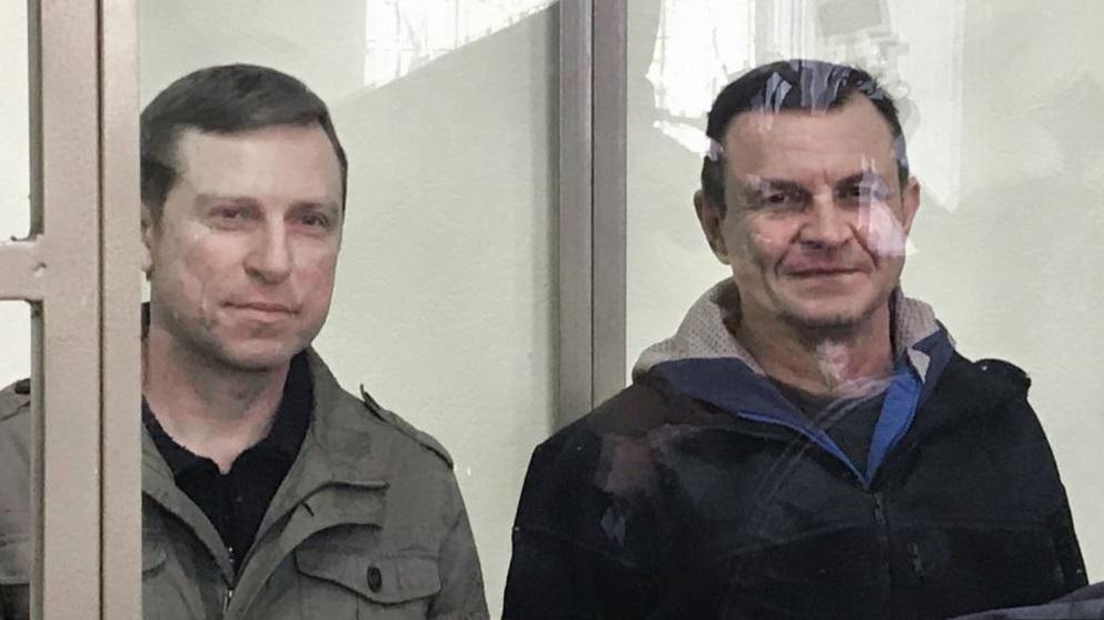 Дудку и Бессарабова задержали 9 ноября 2016 / krymr.com