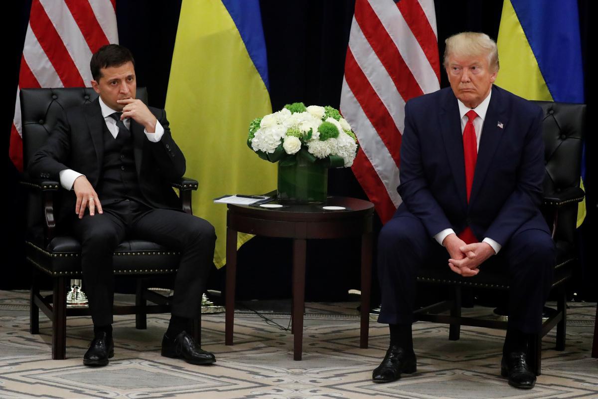 Zelensky and Trump / REUTERS