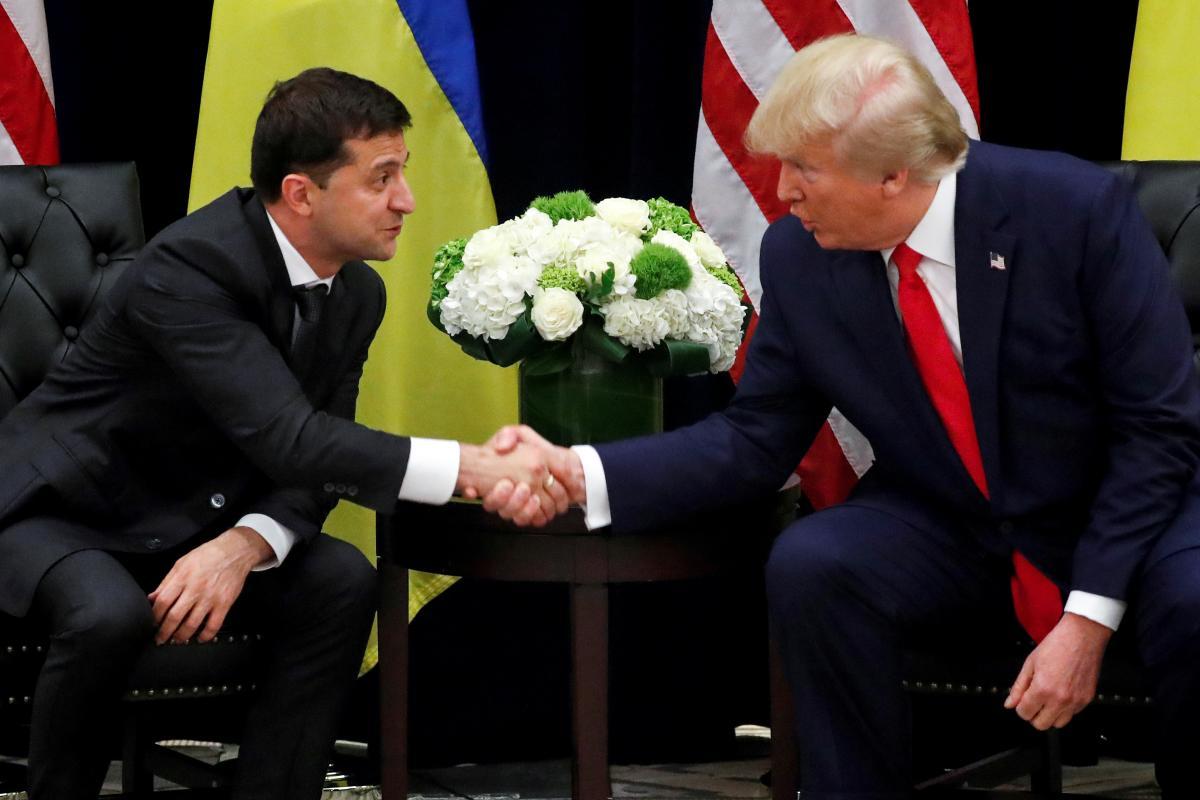 Володимир Зеленський і Дональд Трамп / фото REUTERS