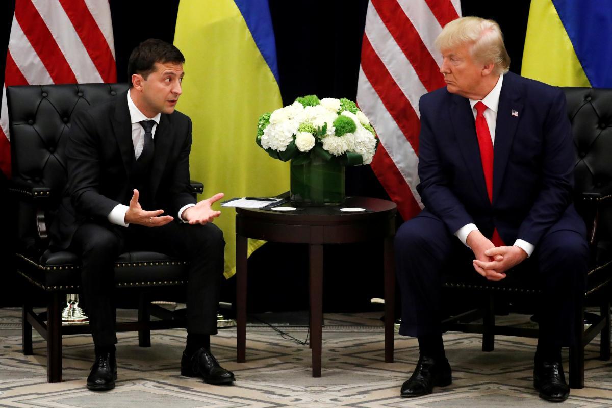 Владимир Зеленский и Дональд Трамп / фото REUTERS