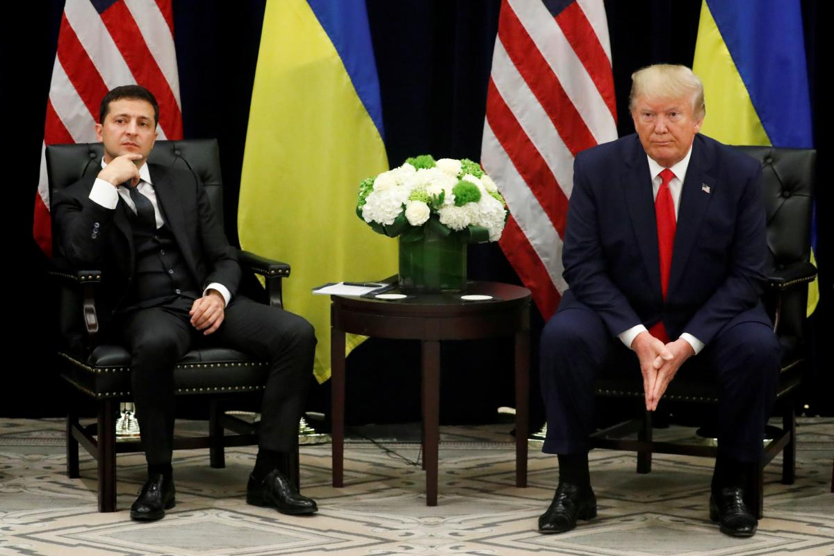 Володимир Зеленський та Дональд Трамп / фото REUTERS