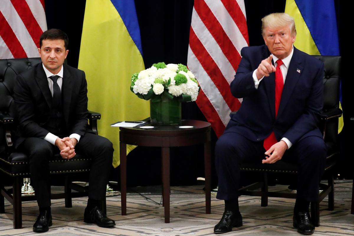 Владимир Зеленский и Дональд Трамп / REUTERS