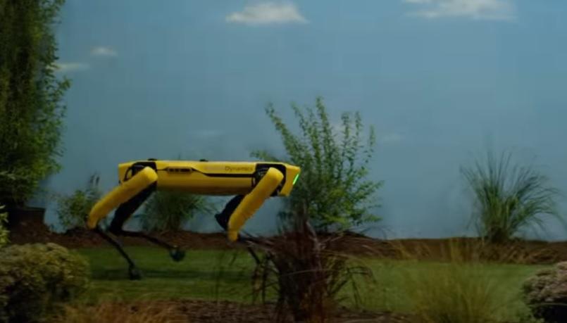 Роботом Spot заинтересовались нефтяники / Скриншот - Youtube