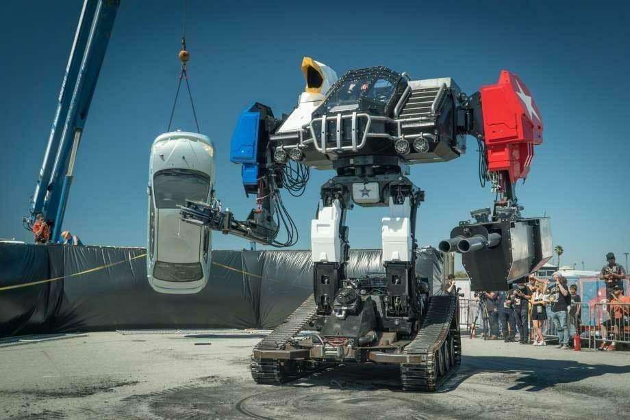 Eagle Prime — один из наиболее боеспособных боевых роботов в мире / фото: MegaBots