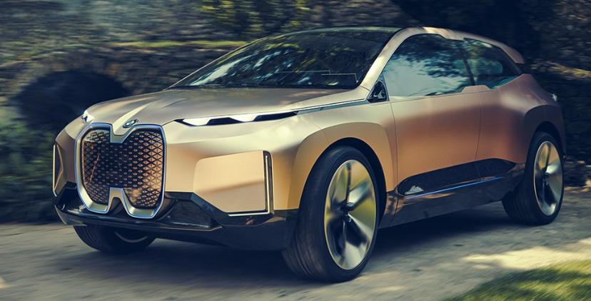 BMW сняла горячую рекламу концепта беспилотного электрокара будущего / Twitter, BMW i
