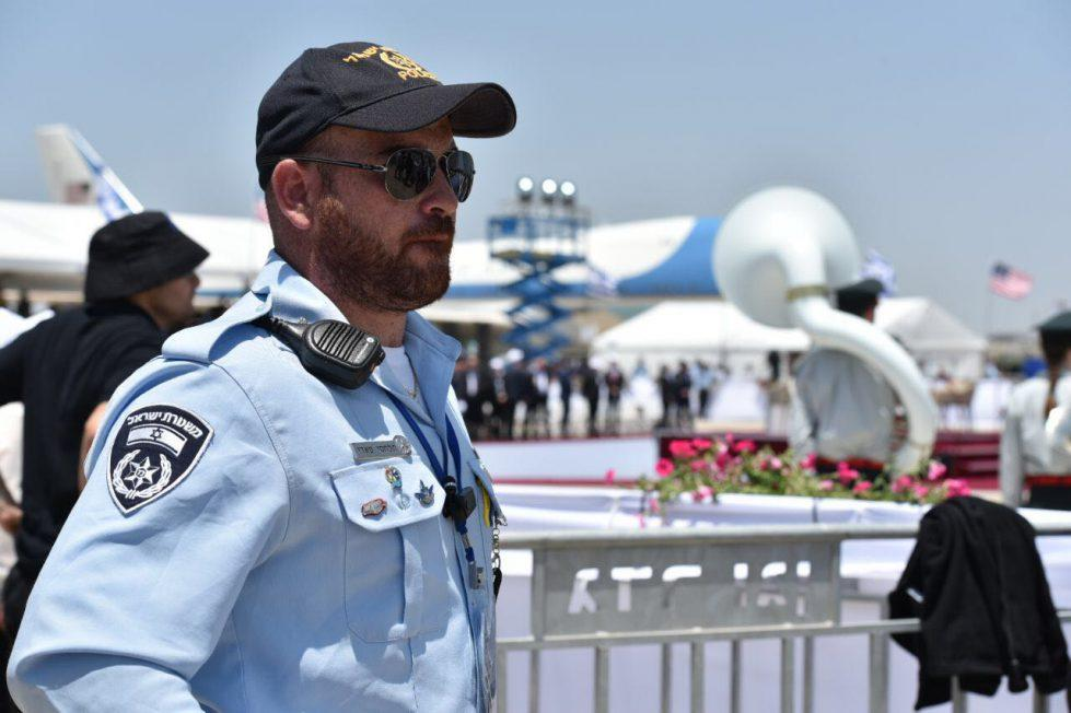 Israeli police will serve together with Ukrainian law enforcers/ Photo from the press service of Israel's police