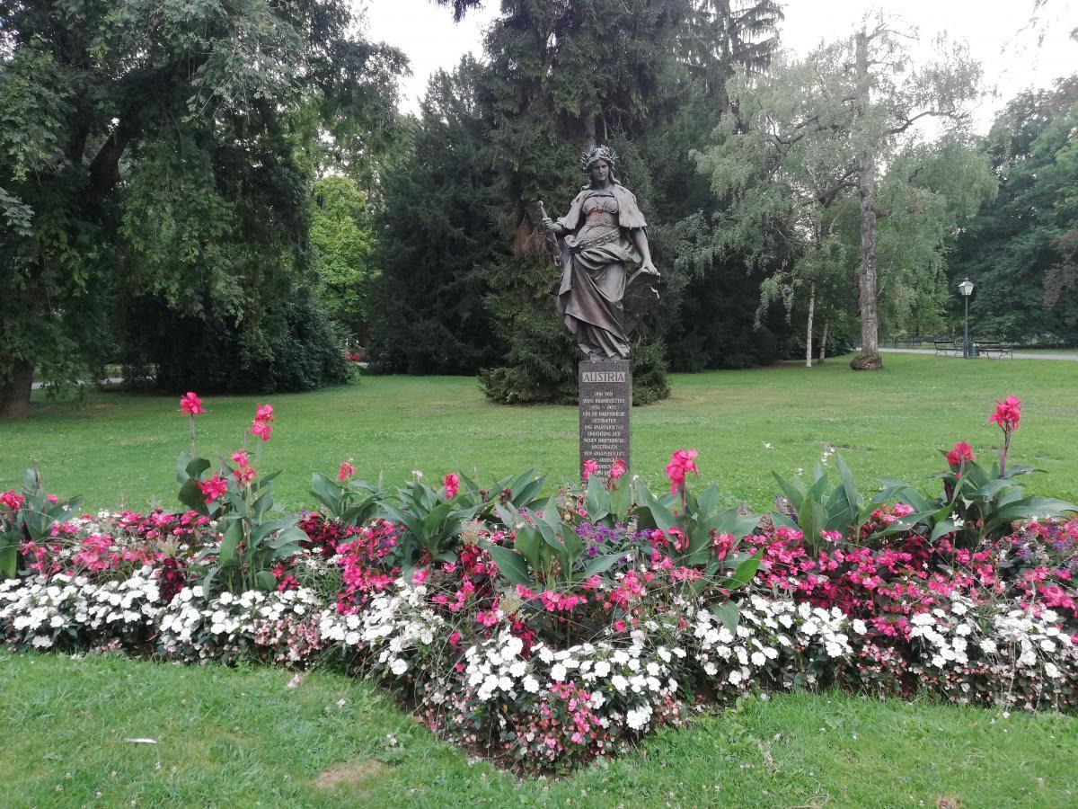 Скульптура Аустрия в городском парке Граца / Фото Марина Григоренко