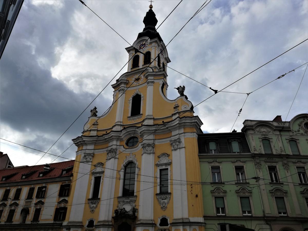В Граце очень много церквей / Фото Марина Григоренко