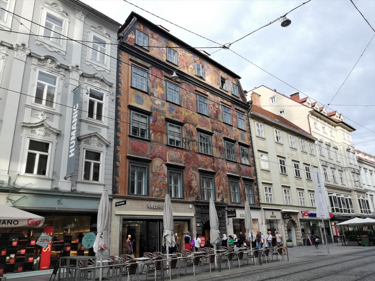 Каждый домик в центре Граца уникален / Фото Марина Григоренко