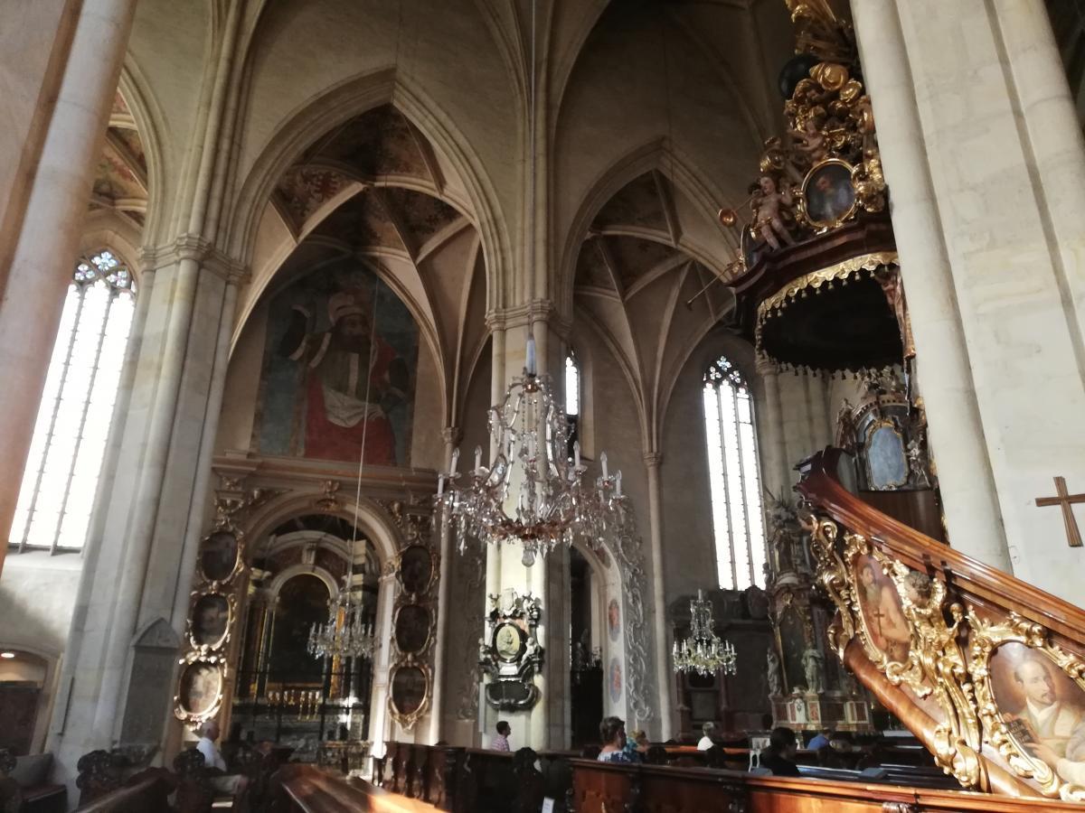Грацский собор внутри / Фото Марина Григоренко