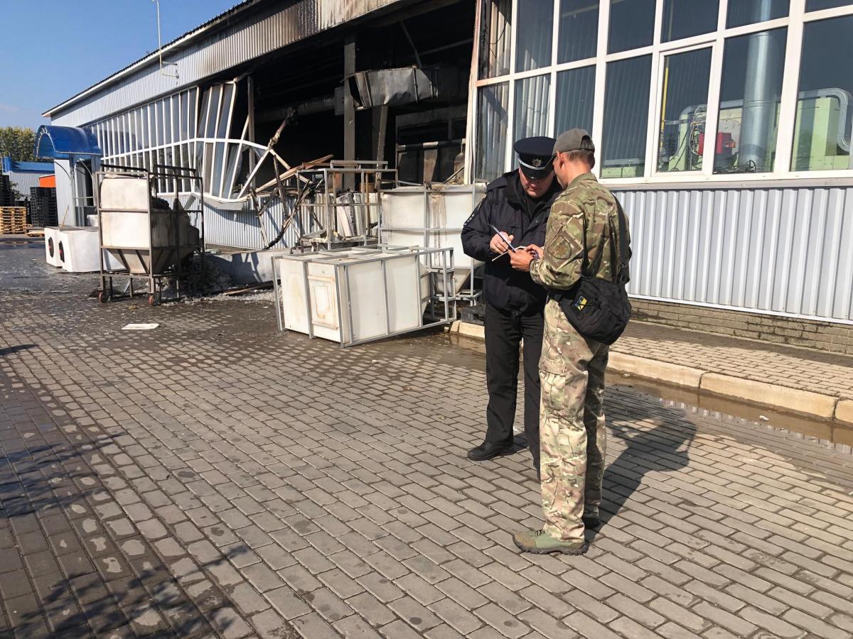 По факту взрыва на заводе в Сумах открыто уголовное производство / фото su.npu.gov.ua