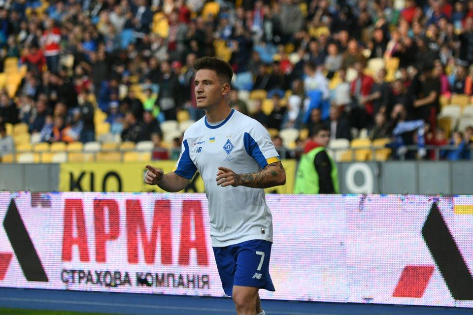 Вербича беспокоили боли в паху / фото ФК Динамо Киев