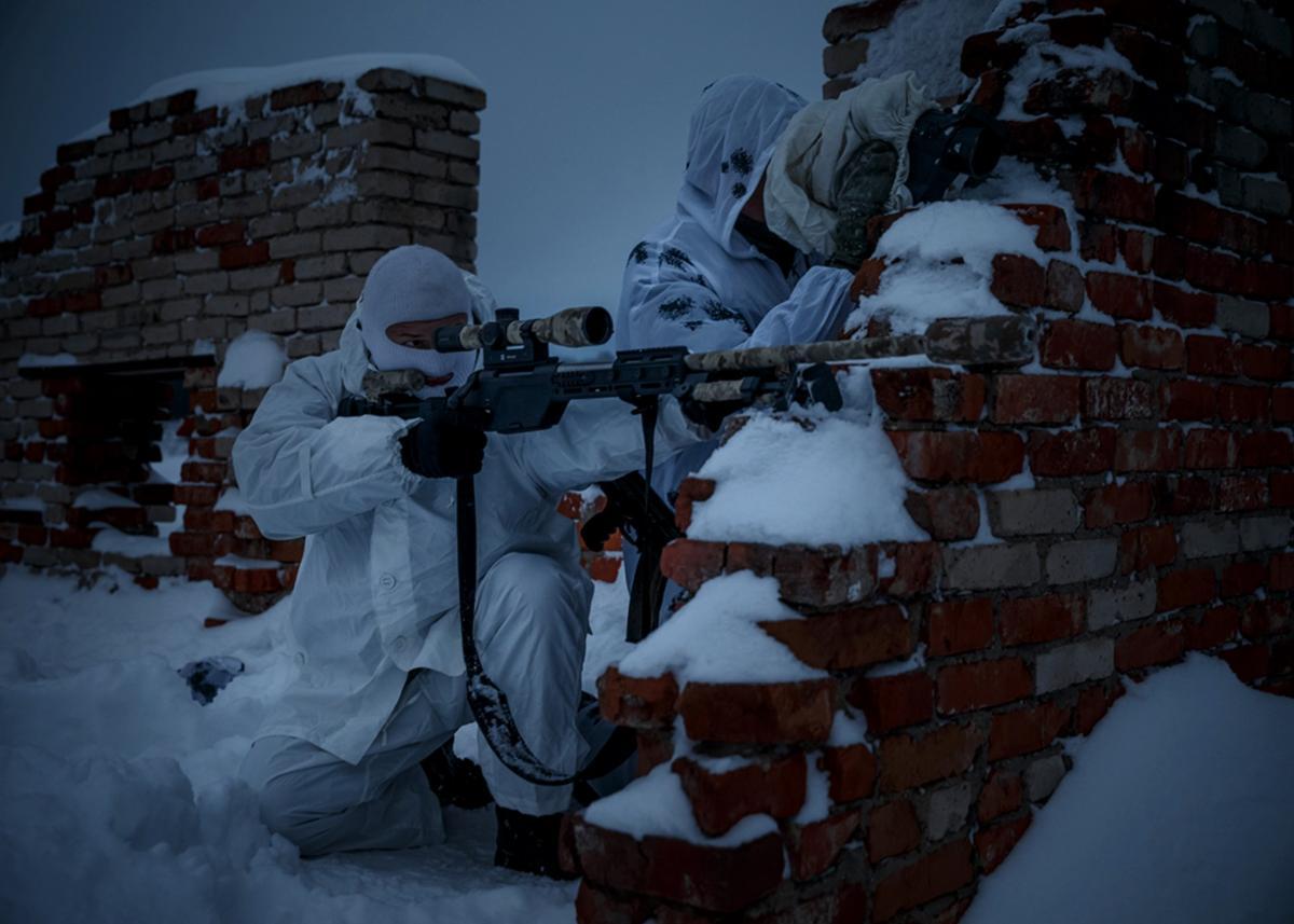 Это может быть связано с российскими военными учениями/ спецназ России / фото: mil.ru