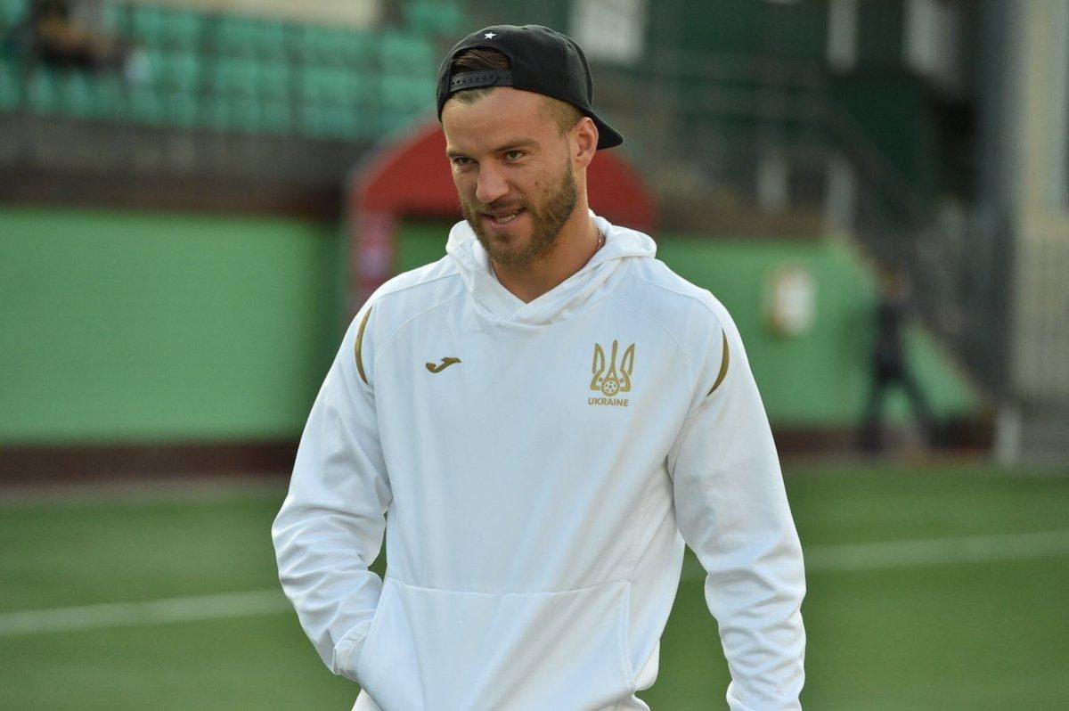Андрей Ярмоленко — один из лидеров сборной Украины покинул