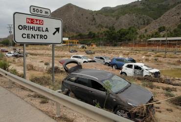 Жертвами наводнений в Испании стали шесть человек