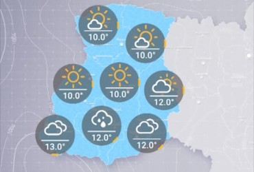 Прогноз погоди в Україні на вівторок, ранок 17 вересня