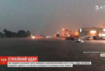 Мощный тропический шторм парализовал целый город в США (видео)
