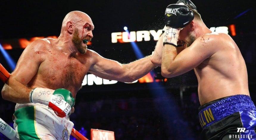 Экс-чемпион мира Фьюри одержал тяжелую победу над шведским боксером (видео)