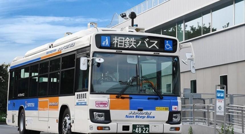 Общественный транспорт без водителя: в Японии запустили беспилотный рейсовый автобус (фото)