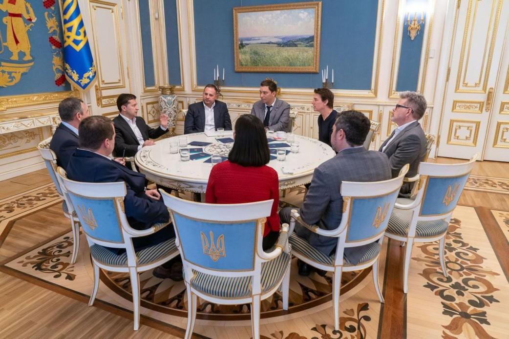 Владимир Зеленский встретился с Томом Крузом / фото president.gov.ua