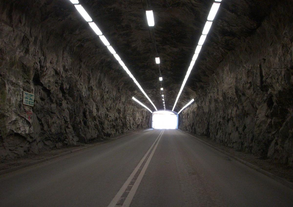 Тоннель на базе ВМФ Мускё / wikipedia.org