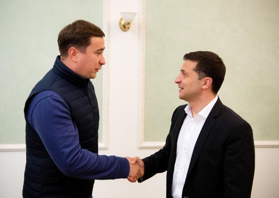 Зеленский назначил Лещенко / фото president.gov.ua