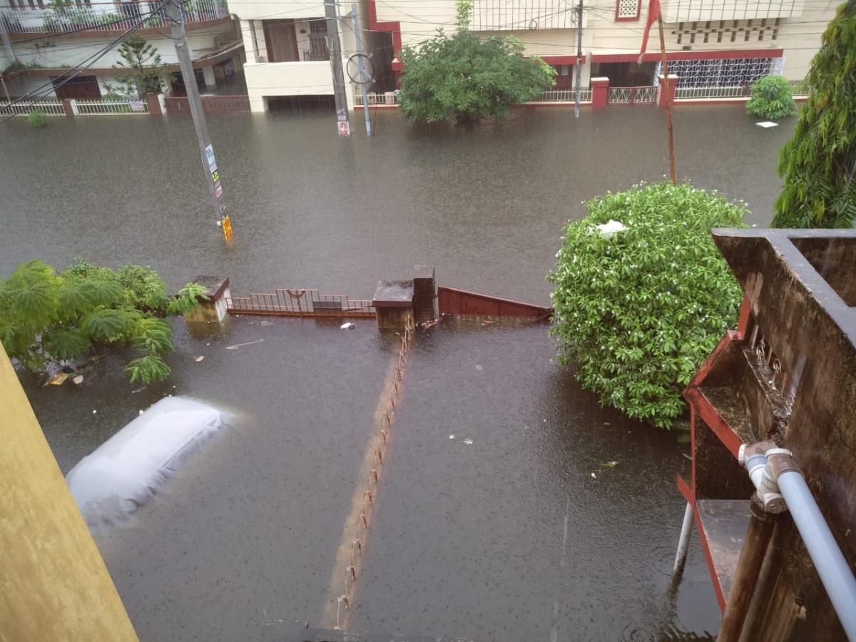 Індію охопило повінь / twitter.com/Siddhar18158209