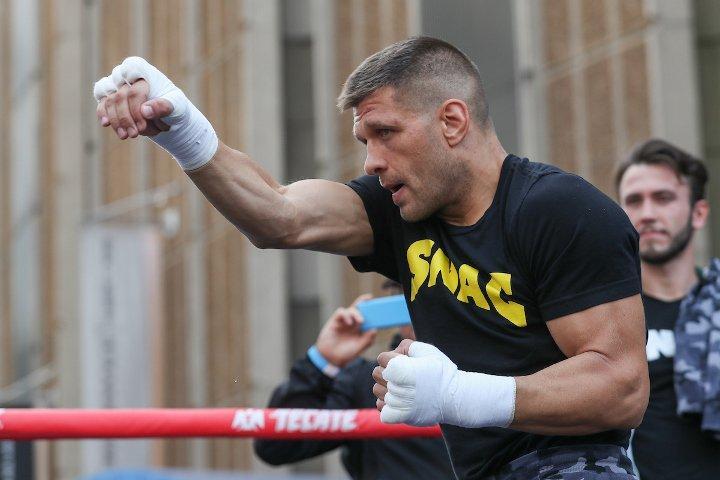 Сергей Деревянченко во второй раз в карьере проведет чемпионский бой / фото: boxingscene.com
