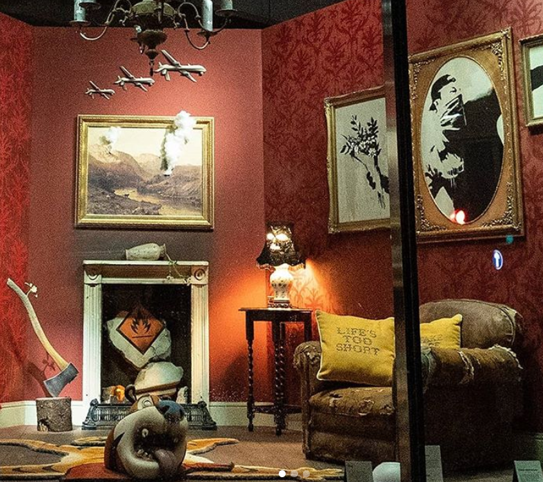 Бэнкси откроет онлайн-магазин собственных  картин