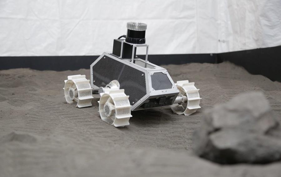 Один из студентов учебного заведения создал робота / фото: Colorado School of Mines