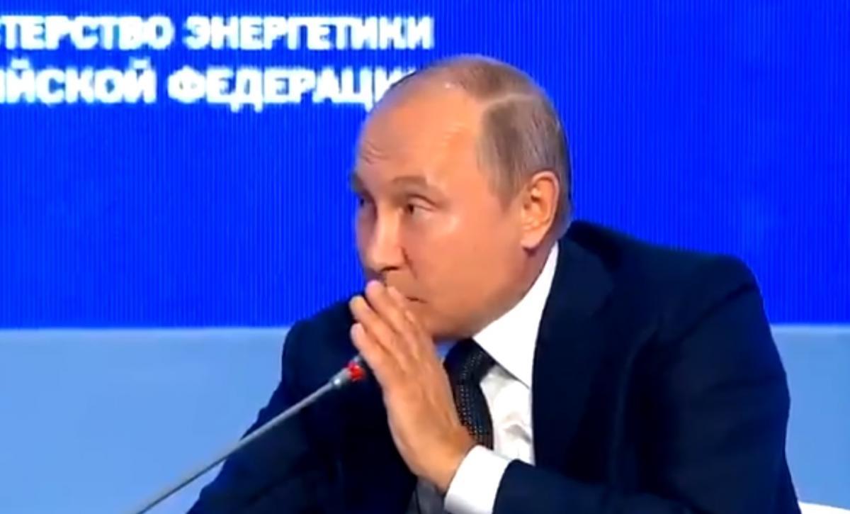 Путин не стал серьезно отвечать на вопрос американца о вмешательстве Москвы в американские выборы Скриншот- Twitter
