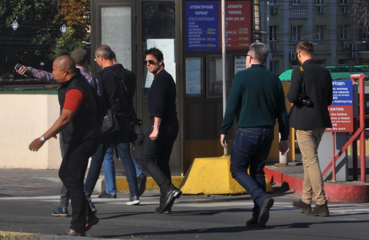 Том Круз поки не буде зніматися в Україні / фото прес-служба Одеського морпорту