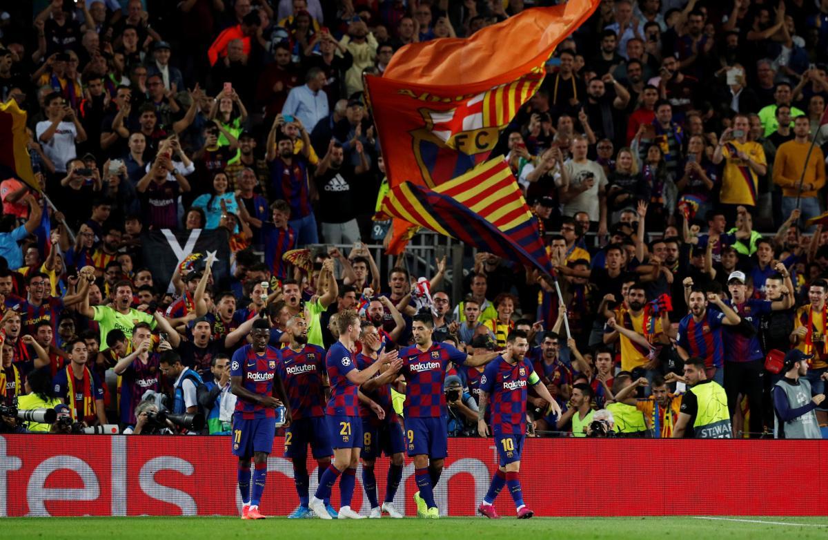 Барселона - Интер / REUTERS