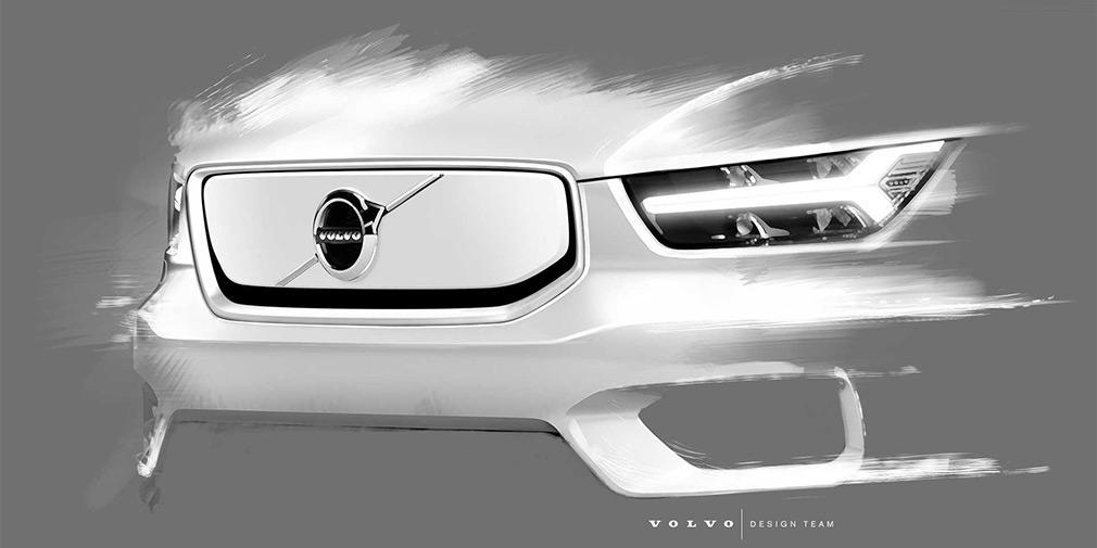 Электрический Volvo XC40 презентуют уже в октябре / фото Volvo