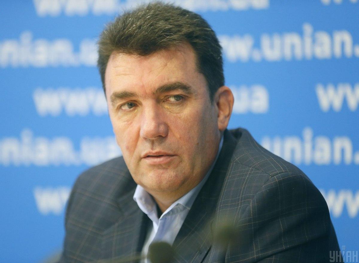 Данилов пока воздержался от объяснений, в чем суть утвержденного сценария / фото УНИАН