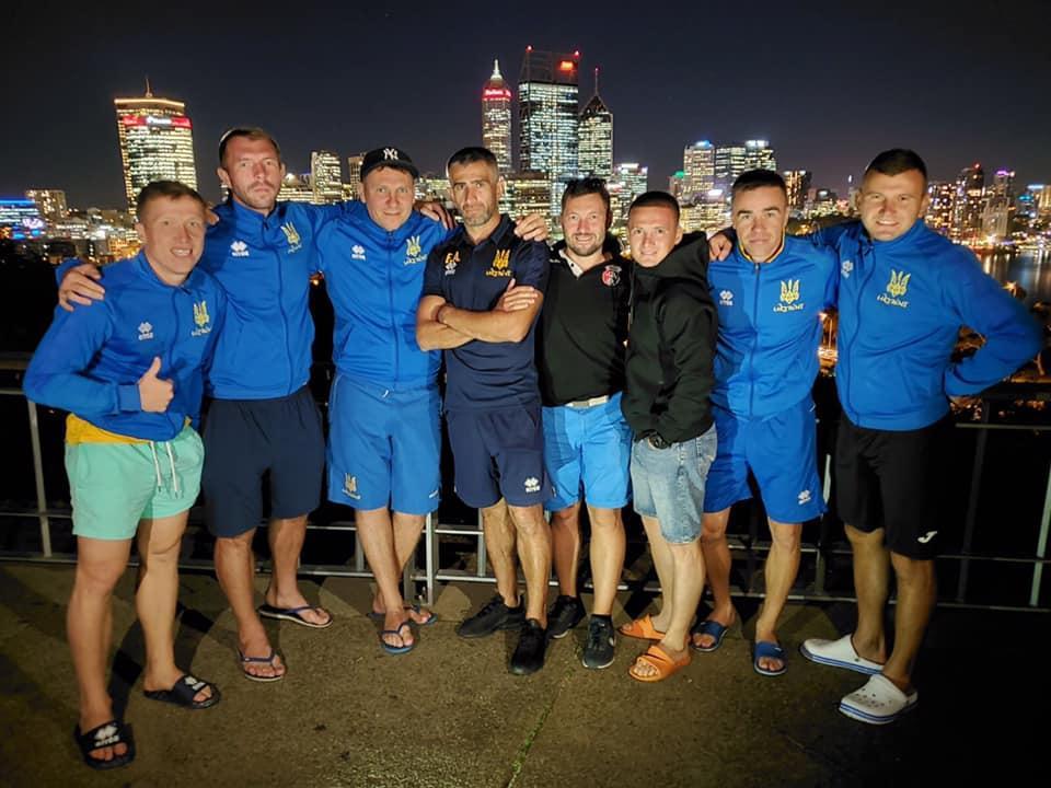 Сборная Украины прибыла в Австралию не в полном составе / фото: facebook.com/ukraineminifootball
