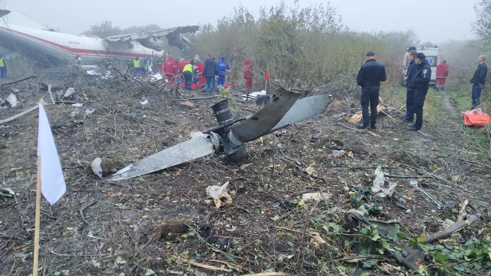 На борту самолета находились восемь человек / фото: Igor Zinkevych/Facebook
