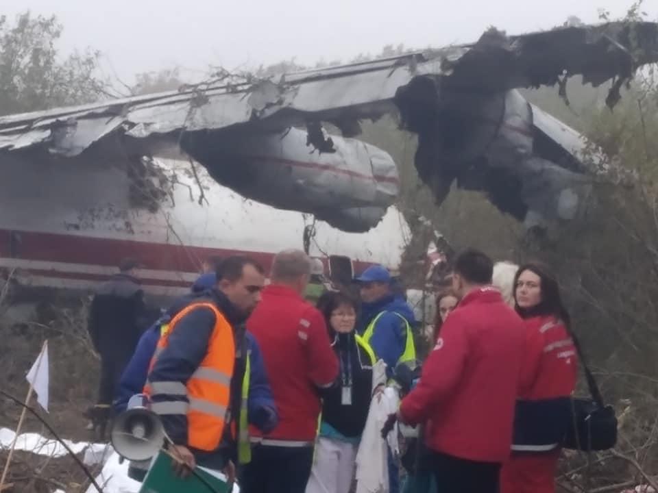 По словам министра, аварийная посадка совершена из-за того, что закончилось горючее/ фото: Igor Zinkevych/Facebook