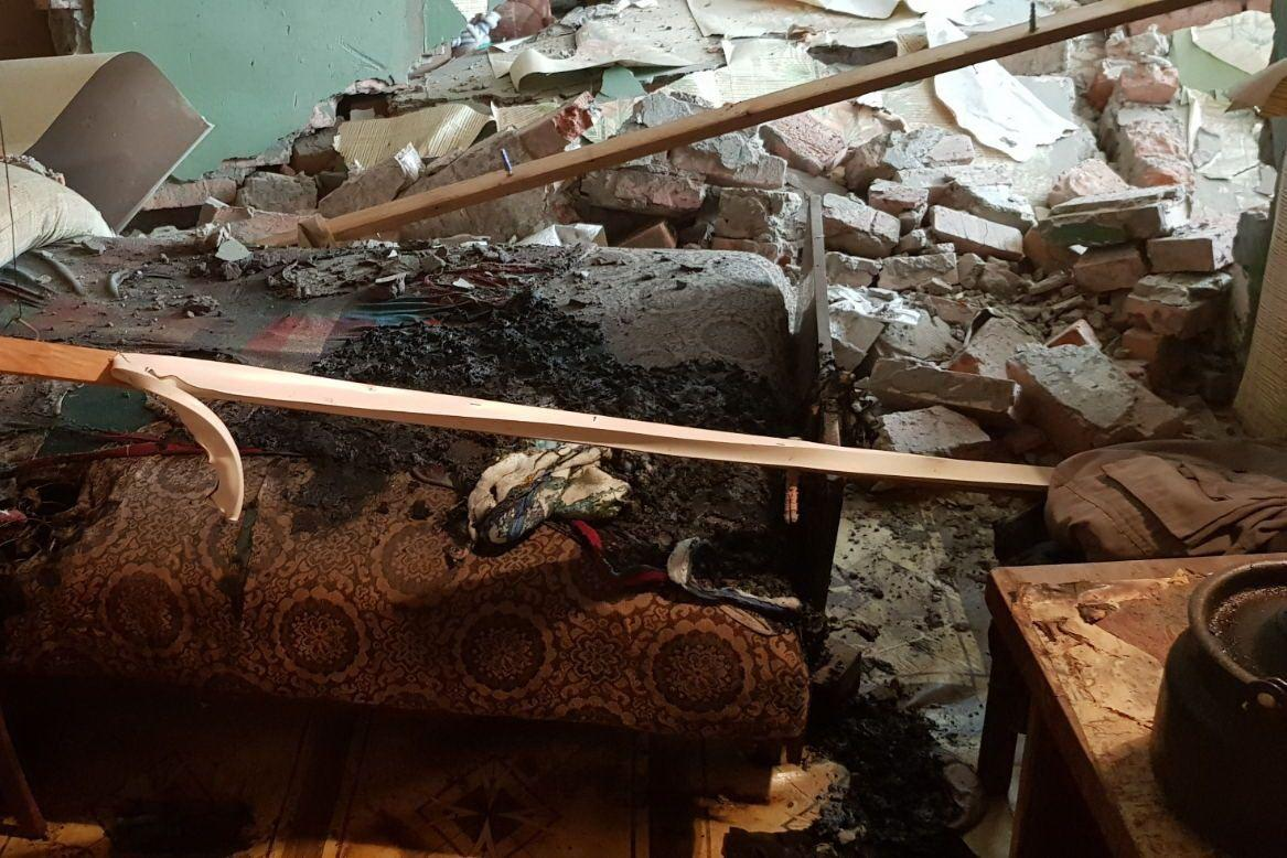 Рятувальники з'ясували, що вибух стався на кухні однієї з квартир на першому поверсі будинку / tsn.ua
