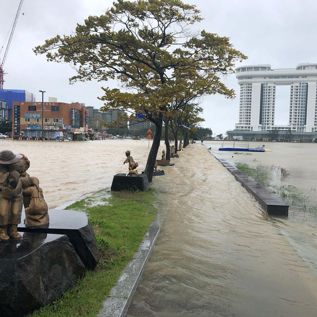 Наслідки тайфуну в Південній Кореї / REUTERS