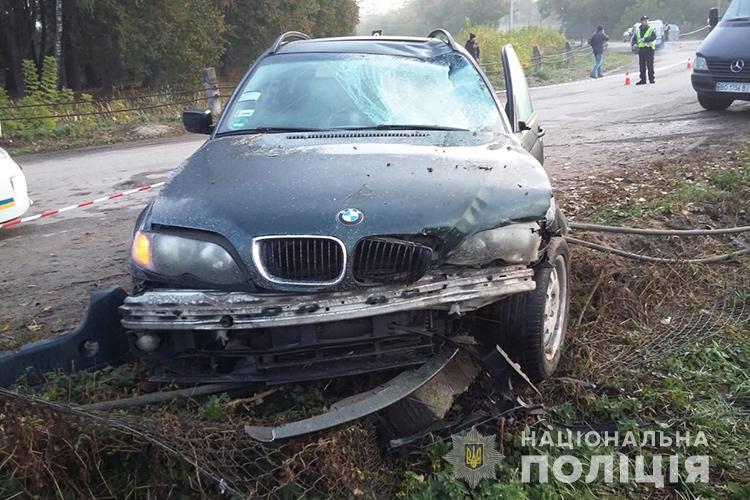 В крови водителя обнаружили 1,6 промилле алкоголя / фото ГУ НП в Тернопольской области