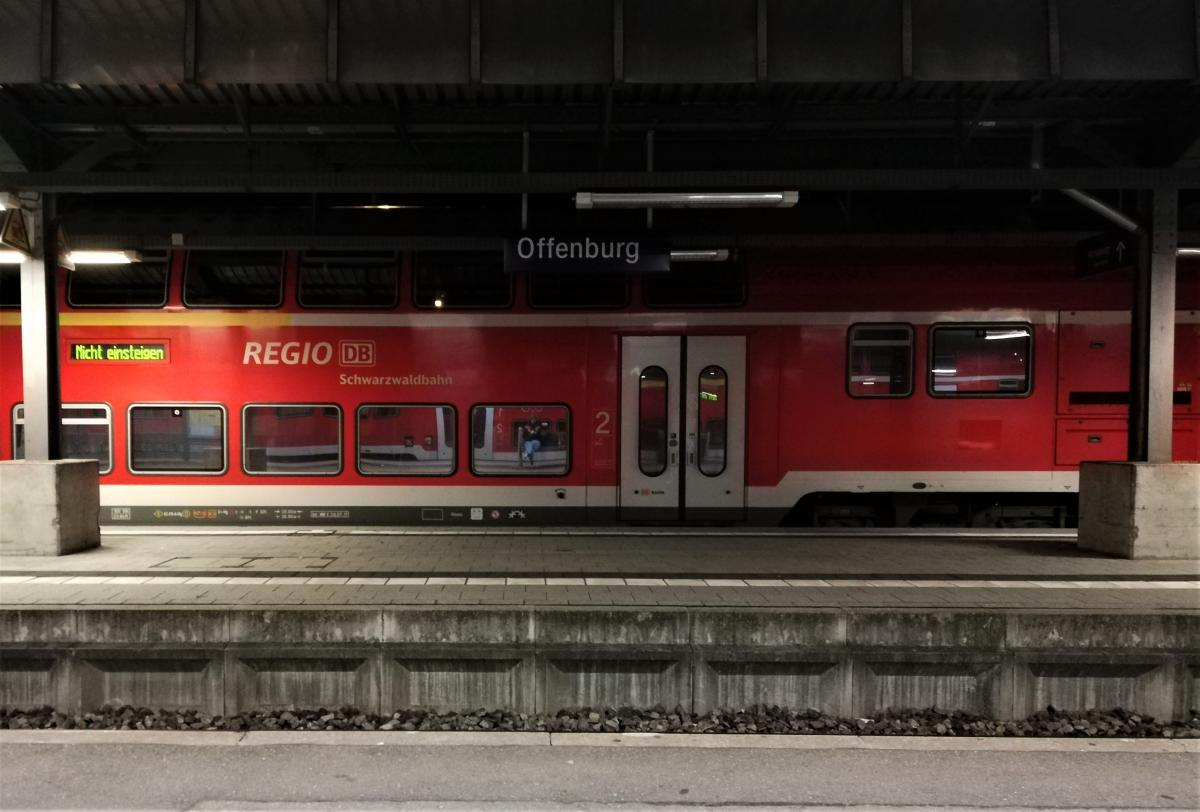 Не везде в Европе вокзалы открыты ночью - можно застрять на перроне на пару часов/ Фото Марина Григоренко