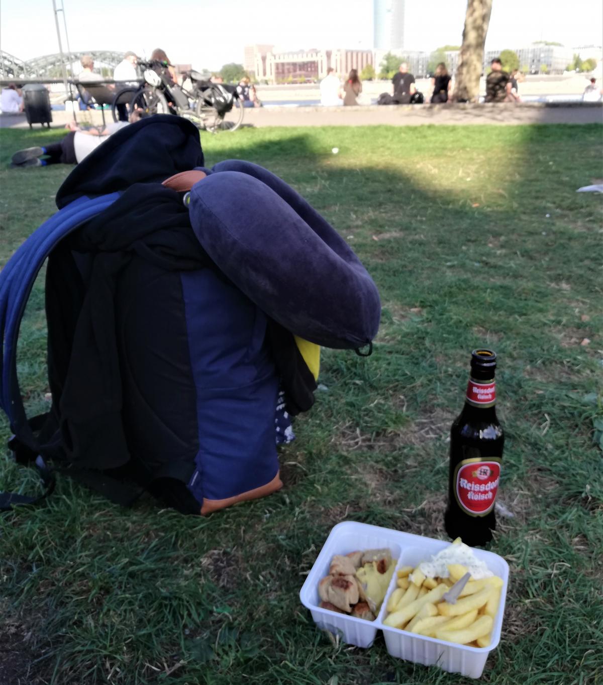 Тот самый рюкзак, с которым мы пережили 17 дней в Европе / Фото Марина Григоренко