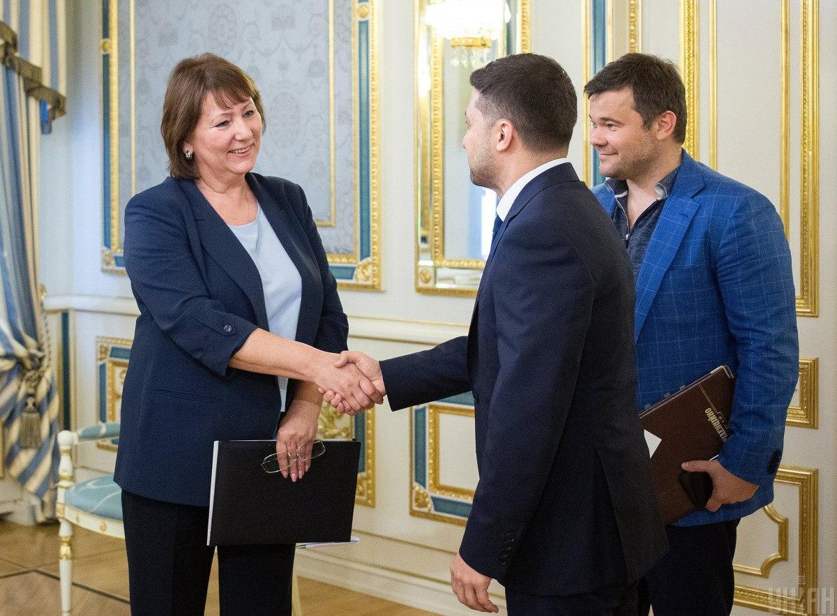 Данішевська каже, що запрошувала президента на зустріч / УНІАН