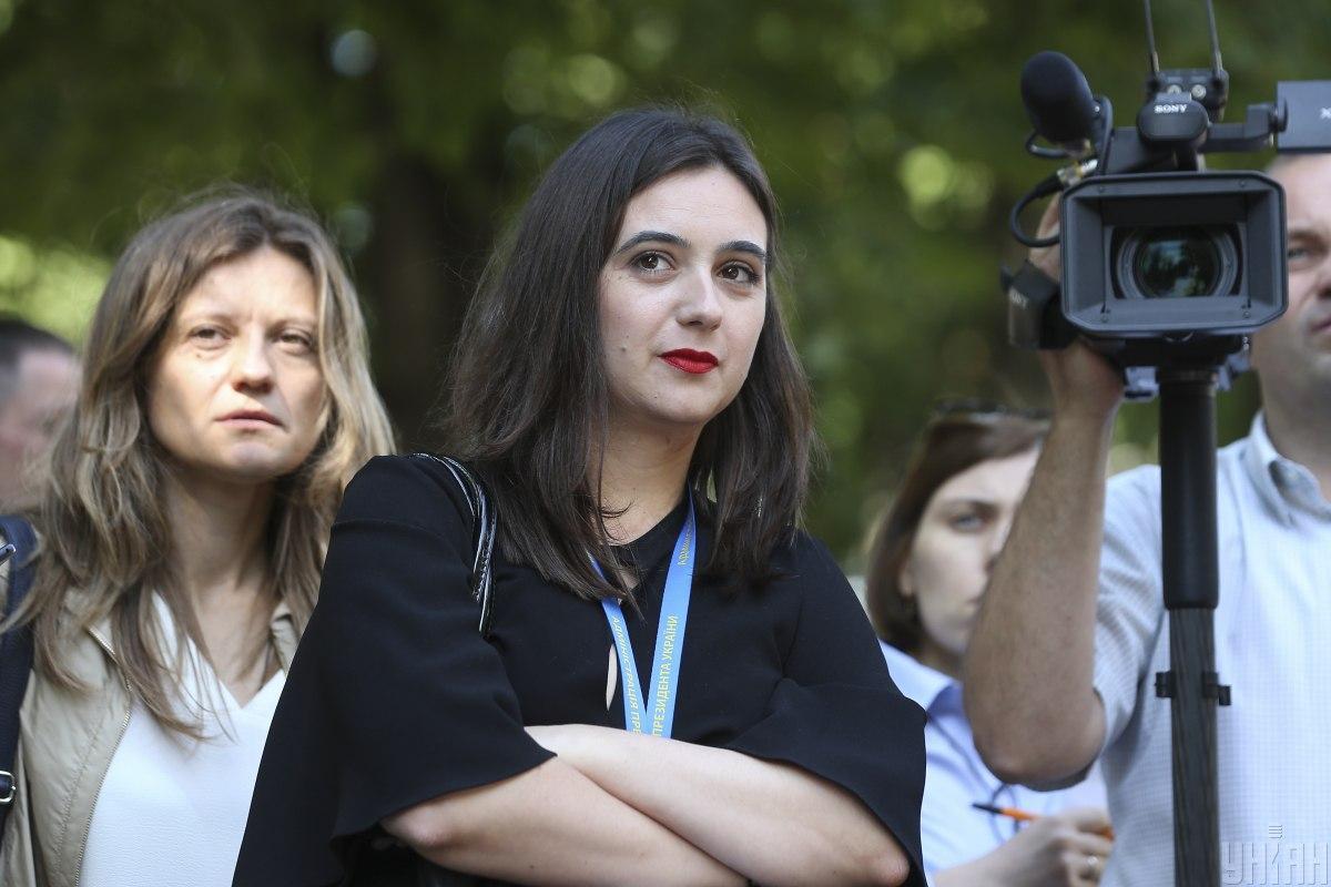 Заявление на увольнение Мендель написала в апреле 2021 года / фото УНИАН