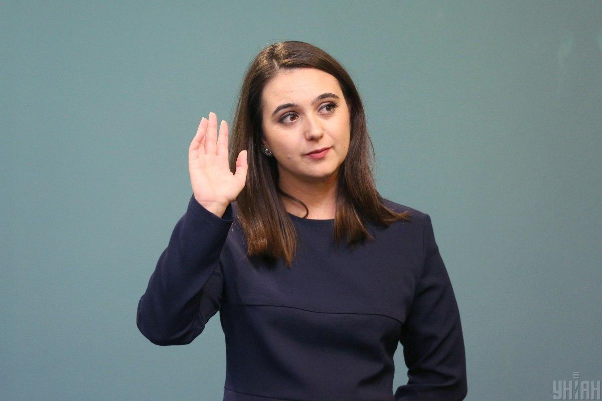 Юлия Мендель заняла должность пресс-секретаря президента Зеленского в июле 2019 года / фото УНИАН